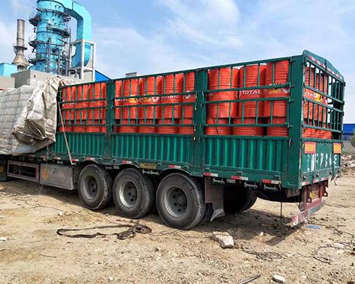 新项目30吨润滑油订单